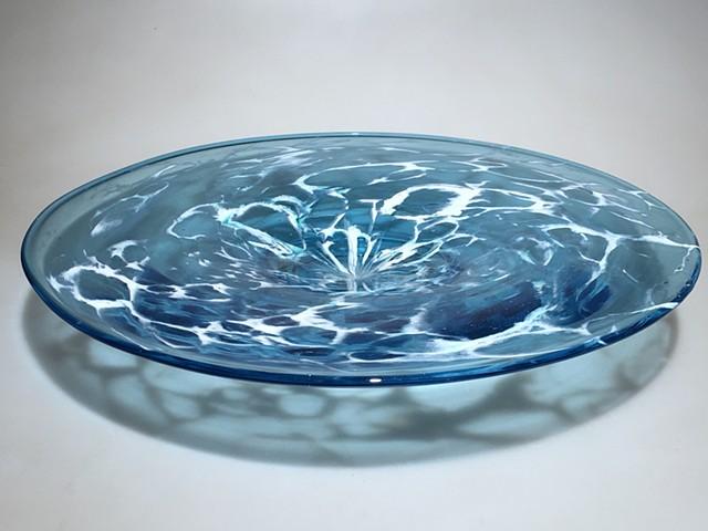 Aqua Sea Foam Platter
