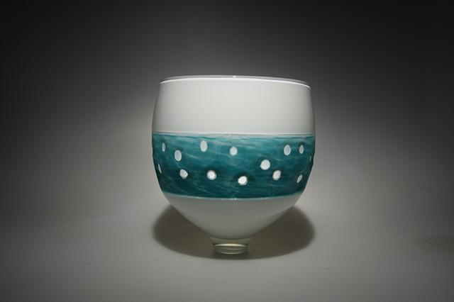 Aquinah Bowl Water Ripple pattern