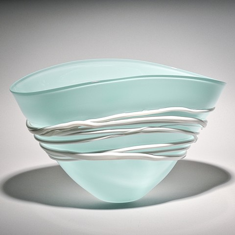 Celadon Fan Bowl