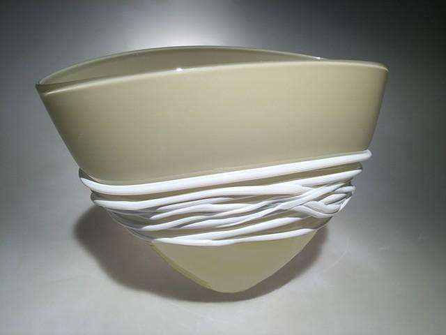 Sand Grey Fan Bowl