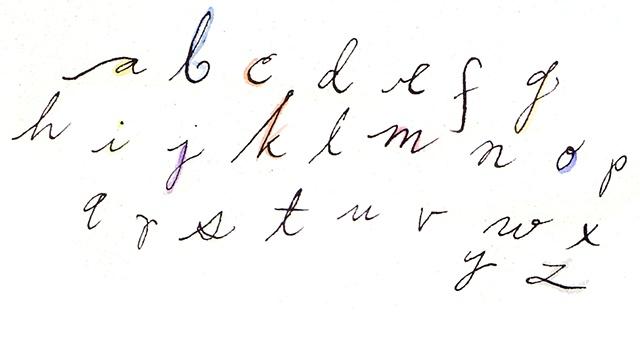 loopy alphabet