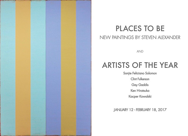 Artists of the Year - The Curator Gallery