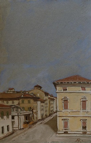 mixed medium, art, lucca, italy, work on paper
