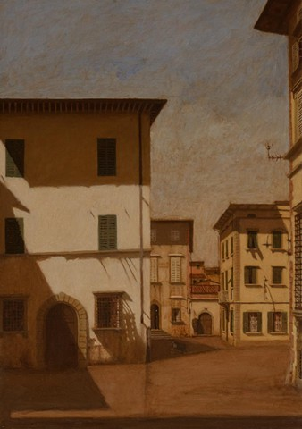 lucca, art, painting, 2012, plein aire