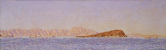 painting, Baja, plein aire, california
