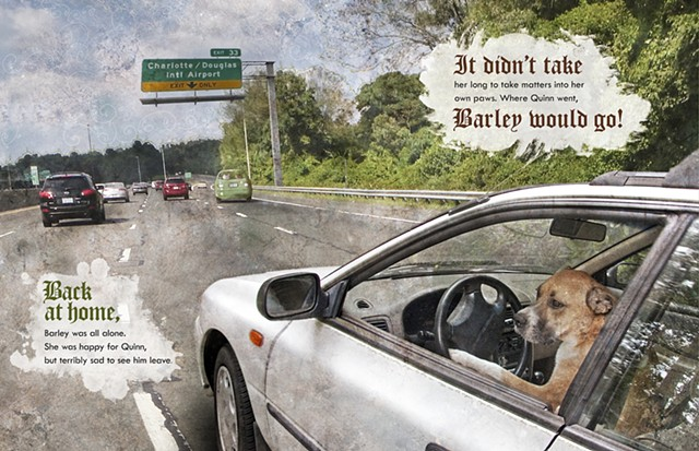 Barley Drives to Charlotte Douglas Airport