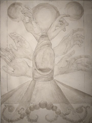 Olivia Fowler, Drawing I Final Project: Sublimating the Banal