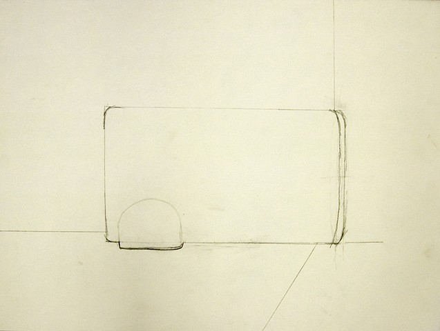Elan Sok, Drawing I: Drawing a Void (after Rachel Whiteread)