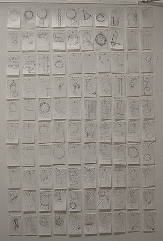 Leah Hoffman, Drawing IV: 100 Drawings