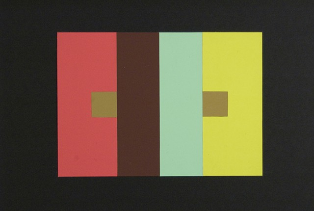 Kristen Fowler, Visual Studies III: Color Theory & Fundamentals, 1 color as 2