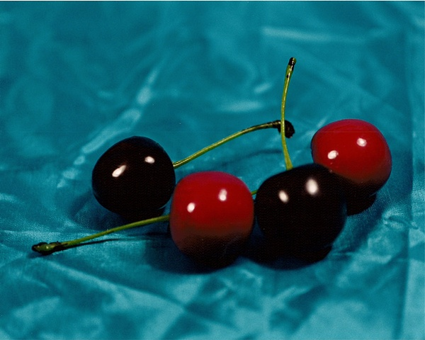 """""""Sense of Herself"""" (Plastic Cherries) 1 out of over 750 different images 1995-present"""