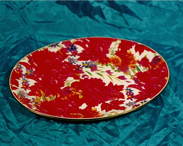 """Sense of Herself"" (Platter) 1 out of over 750 different images 1995-present"
