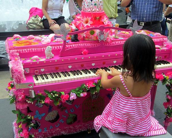 Beautiful Music (Girl in Pink Dress)