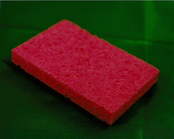 """Sense of Herself"" (Pink Sponge) 1 out of over 750 different images 1995-present"