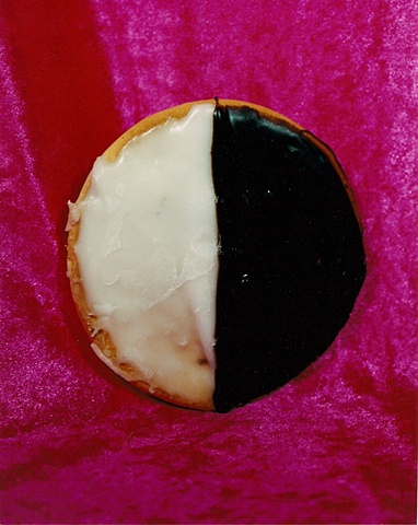 """Sense of Herself"" (Black / White Cookie) 1 out of over 750 different images 1995-present"