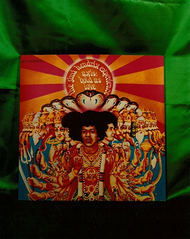 """Sense of Herself"" (Jimi Hendrix Album) 1 out of over 750 different images 1995-present"