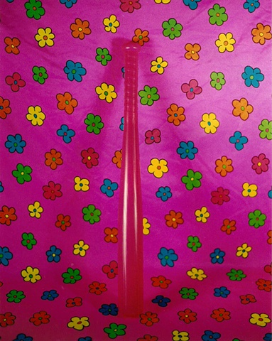 """Sense of Herself"" (Pink Plastic Bat) 1 out of over 750 different images 1995-present"