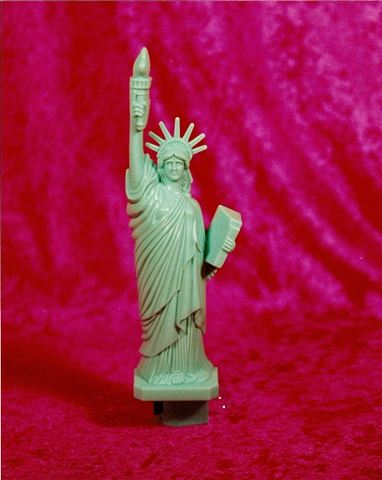 """Sense of Herself"" (Statue of Liberty) 1 out of over 750 diffeent images 1995-present"