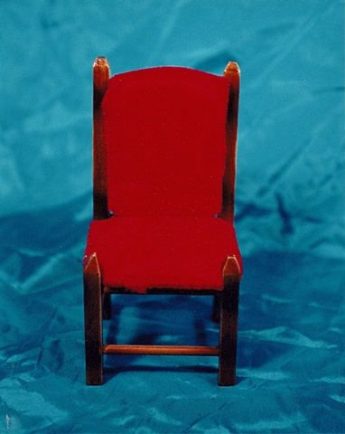 """""""Sense of Herself"""" (Red Chair) 1 out of over 750 different images 1995-present"""