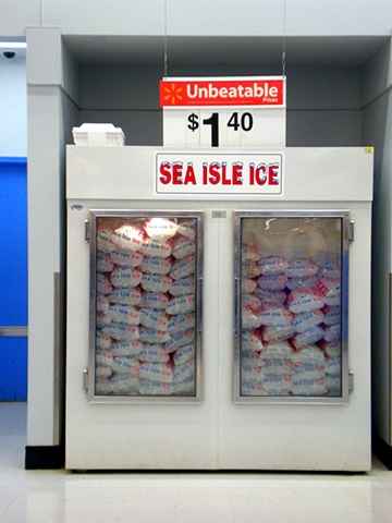 Ice Machine (Walmart, Tinton Falls, NJ)
