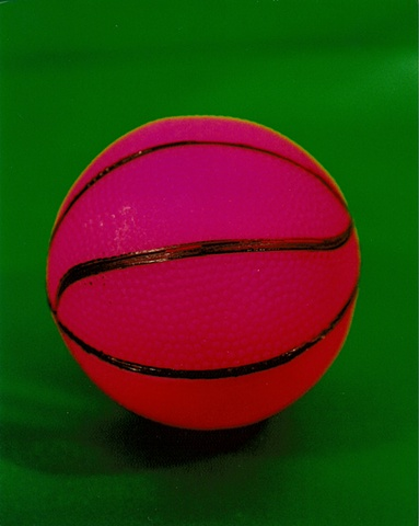 """Sense of Herself"" (Pink Basketball) 1 out of over 750 different images 1995-present"