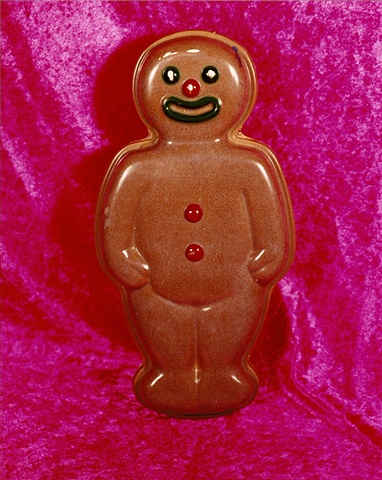 """Sense of Herself"" (Gingerbread Man) 1 out of over 750 different images 1995-present"