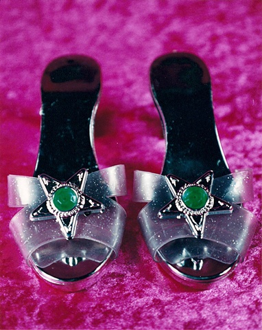 """Sense of Herself"" (Silver Slippers) 1 out of over 750 different images 1995-present"