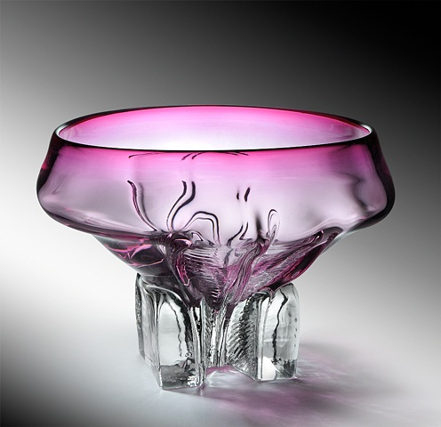 cast blown glass