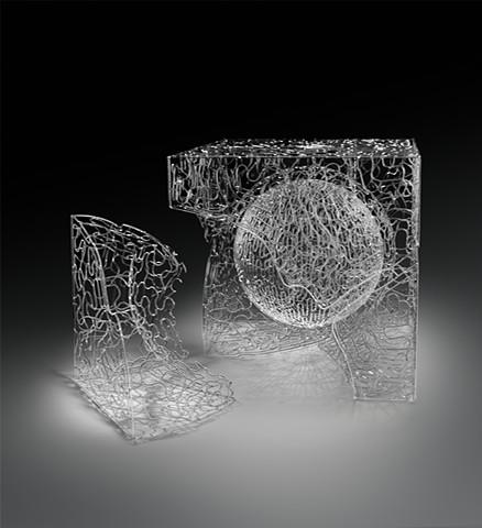 """Matrix Series:  """"Cubism VI Double Core/Meander Construct....D"""""""