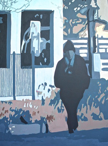 figurative Urban landscape painting