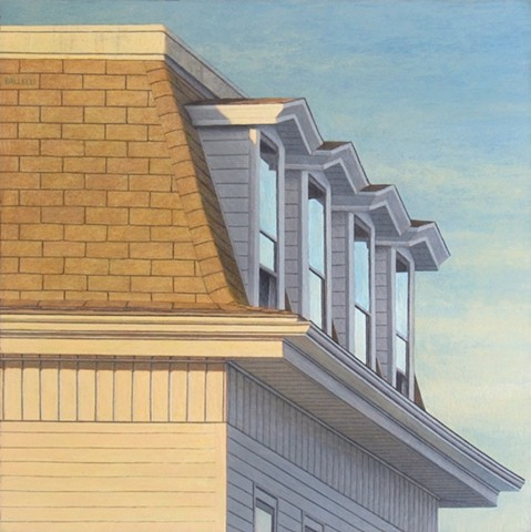 urban landscape, suburban landscape, painting, art, ballelli, acrylic, contemporary, artist, realism, fine art, paintings
