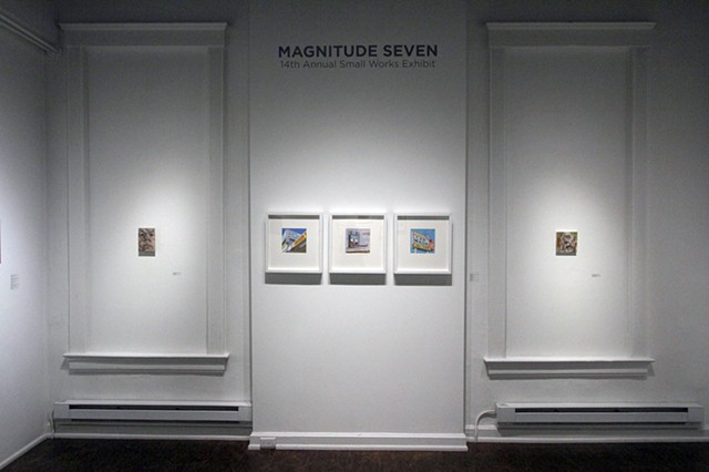 14th annual MAGNITUDE SEVEN at Manifest Gallery
