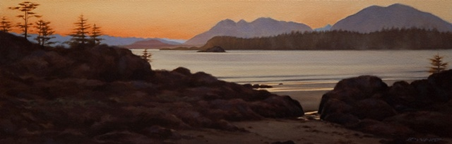 Last Light near Tofino