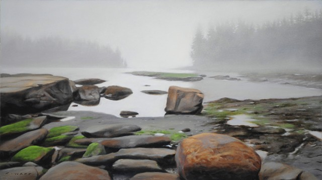 Lifting Fog, Boulder Beach