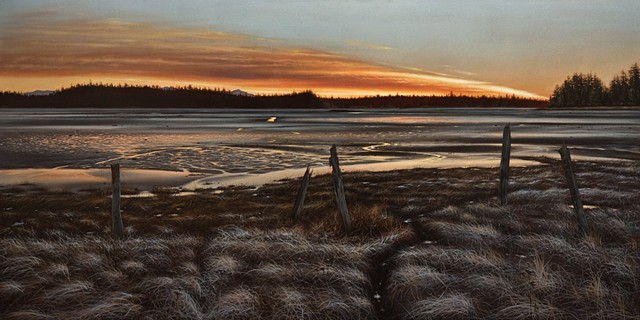 January Dawn, Jensen's Bay Tidal Flats