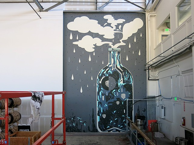 Faction Brewing Mural Project, Alameda, CA