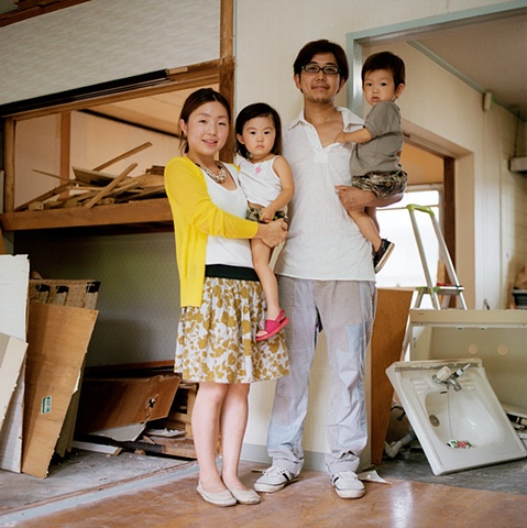 Young Family, Enmyojigaoka Apartments, Oyamazaki, Japan 2008