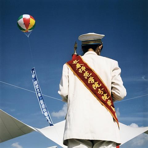 School Bandleader, Changchun, China 2003