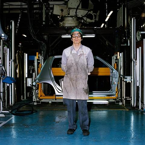 Assembly-Line Worker, Daihatsu Motor Co., Ltd., Oyamazaki, Japan 2008