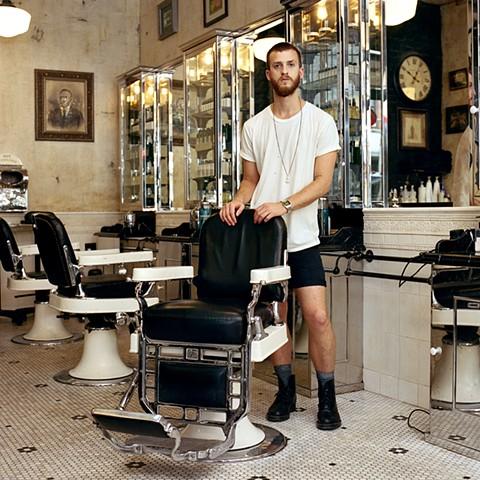 Tim, Hair Stylist, Lower East Side, New York.