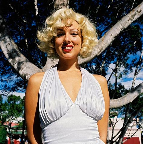 Marilyn, Movieworld, Gold Coast, Australia.