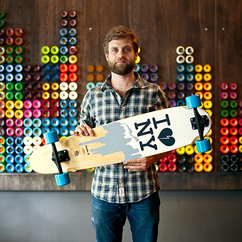 Philip, Manager, Bustin Boards, Lower East Side, New York