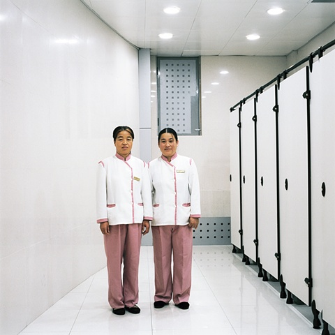 Restroom Attendants, Changchun, China 2003