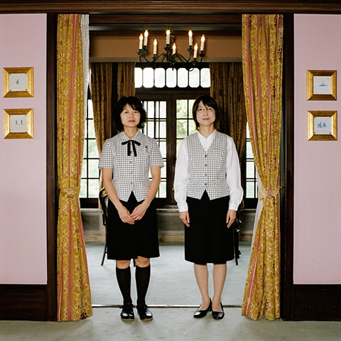Museum Staff, Asahi Beer Oyamazaki Villa Museum of Art, Oyamazaki, Japan 2008