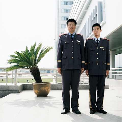 Hotel Security, Changchun, China 2003
