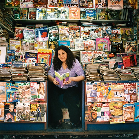 Magazine Stand, Matucana Street, Central Station, Chile, 2006