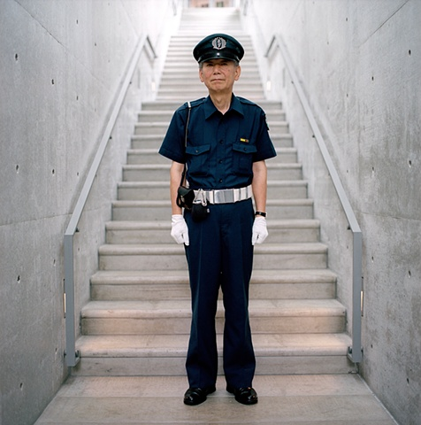Security Guard, Asahi Beer Oyamazaki Villa Museum of Art, Oyamazaki, Japan 2008