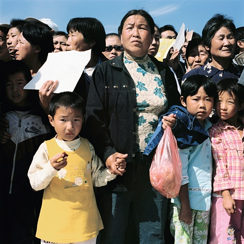 Women and Children, Changchun, China 2003