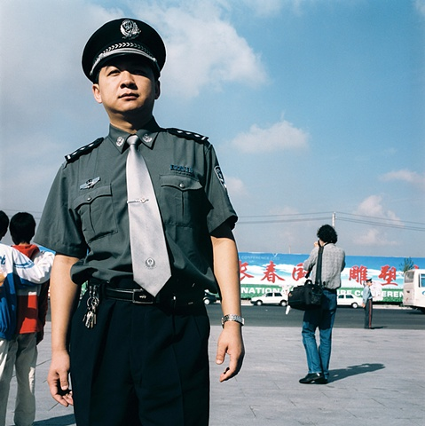 Changchun Policeman, Changchun, China 2003