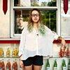 Raquel, Waitress and Fashion Designer, Nolita, New York.